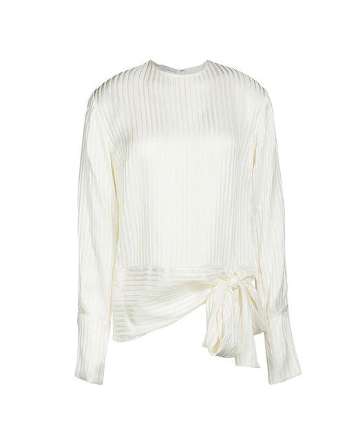 Stella McCartney Blusa de mujer de color blanco YOIPX