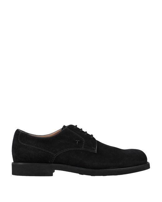 Chaussures à lacets Tod's pour homme en coloris Black
