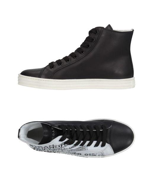 Hogan Rebel - Black High-tops & Sneakers - Lyst