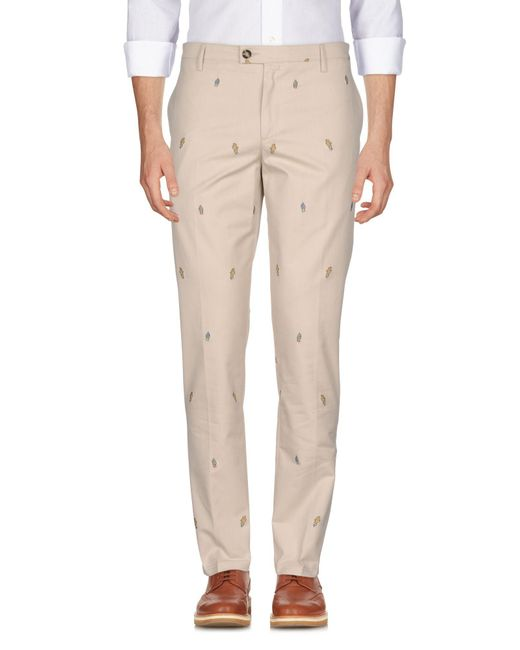 KENZO - Natural Casual Pants for Men - Lyst