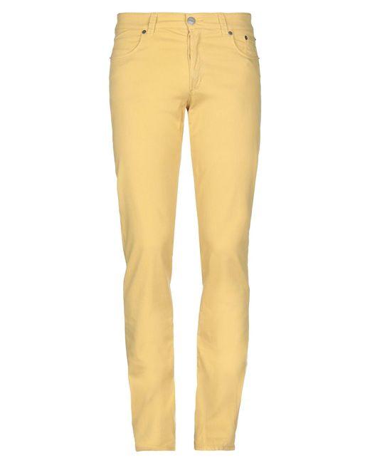 Pantalones Siviglia de hombre de color Yellow
