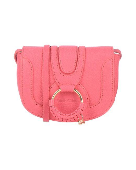See By Chloé Pink Cross-body Bag