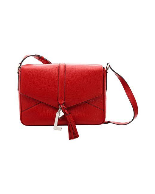 Lancel - Red Cross-body Bag - Lyst