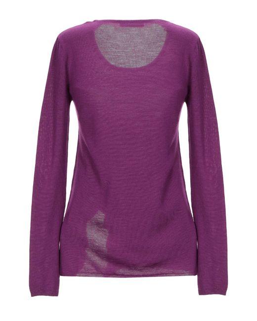 Pullover di Patrizia Pepe in Purple