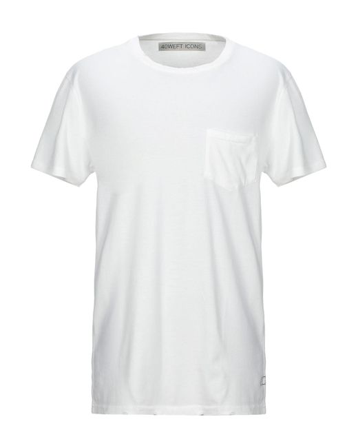 Camiseta 40weft de hombre de color White