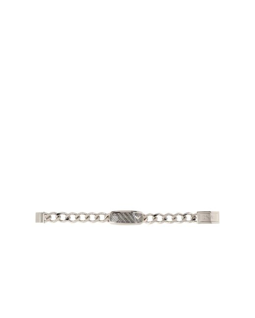 Emporio Armani | Metallic Bracelet for Men | Lyst