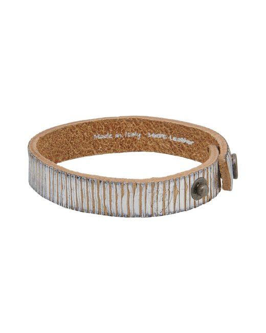 HTC   Metallic Bracelet for Men   Lyst
