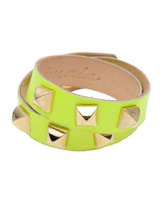 Almala | Yellow Bracelet | Lyst