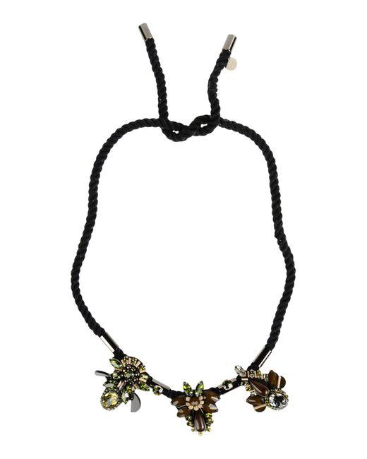 Matthew Williamson | Green Necklace | Lyst