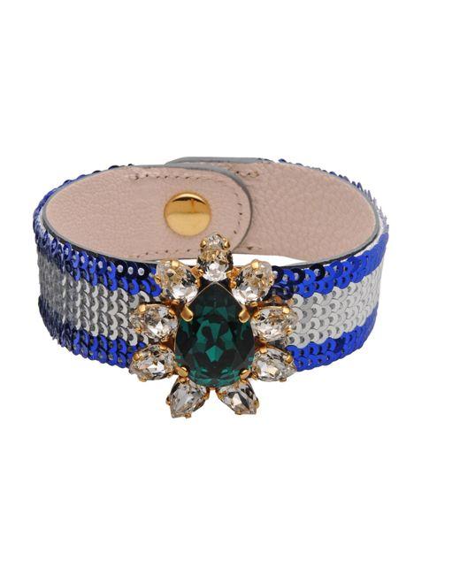 Shourouk | Blue Bracelet | Lyst
