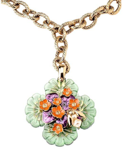 Roberto Cavalli | White Necklace | Lyst