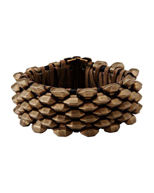 Roberto Cavalli | Metallic Bracelet | Lyst