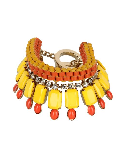 Vionnet | Yellow Bracelet | Lyst