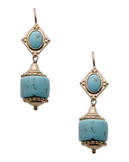 Les Nereides | Blue Earrings | Lyst