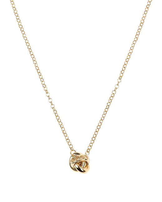 DKNY   Metallic Necklace   Lyst