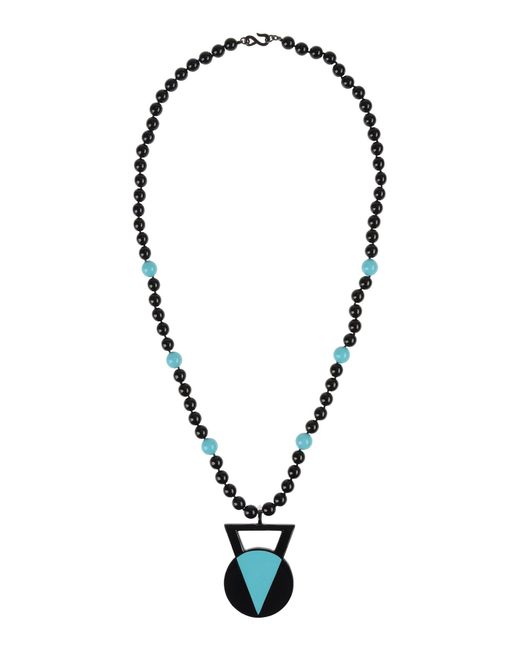 Kenneth Jay Lane | Black Necklace | Lyst