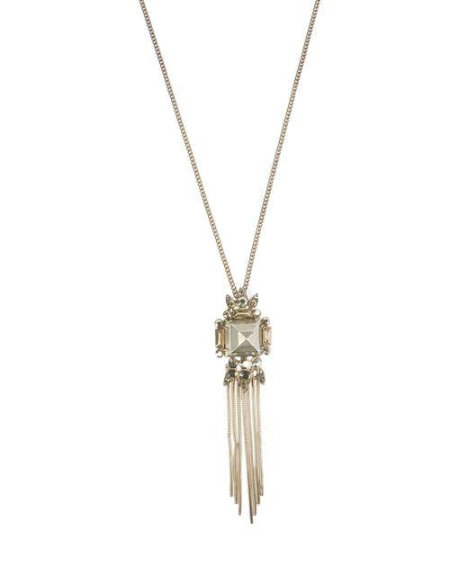 Roberto Cavalli | Metallic Necklace | Lyst