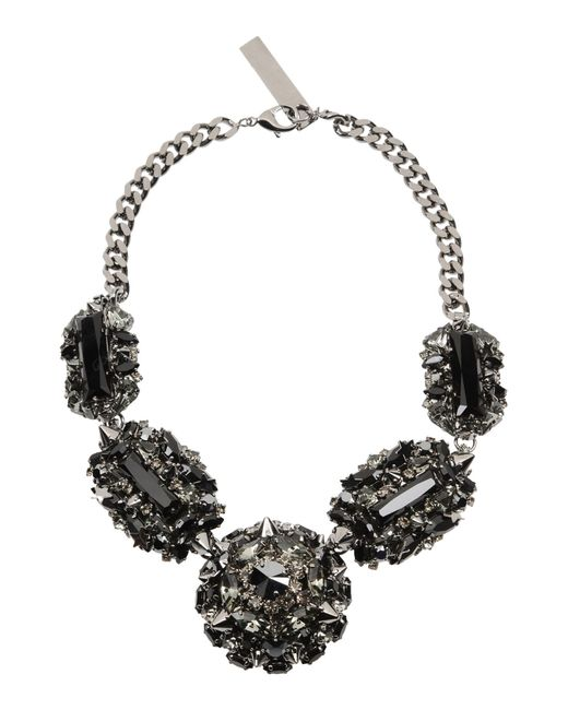 Philipp Plein | Gray Necklace | Lyst