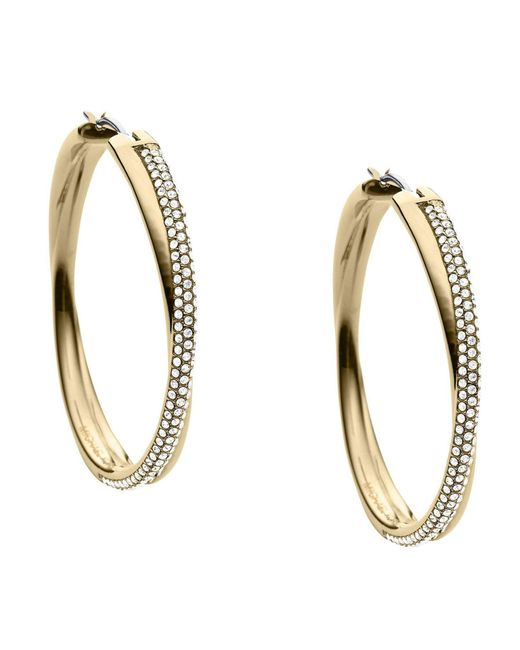 Michael Kors | Metallic Earrings | Lyst