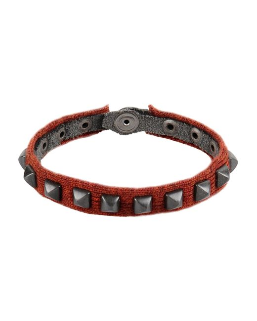 Paolo Pecora | Brown Bracelet for Men | Lyst
