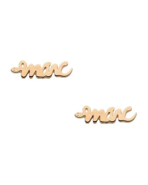 Marc By Marc Jacobs | Metallic Earrings | Lyst