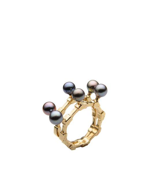 Smith/grey | Metallic Ring | Lyst