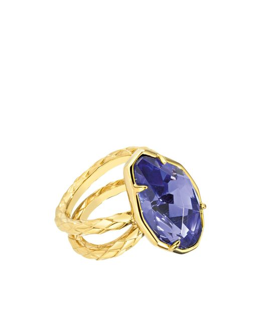 Just Cavalli | Purple Ring | Lyst