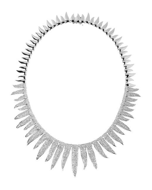 CZ by Kenneth Jay Lane | Metallic Necklace | Lyst
