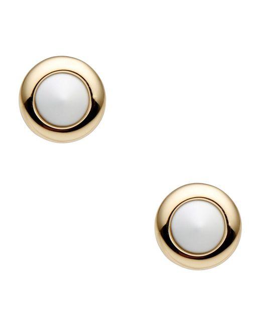 Eddie Borgo | White Earrings | Lyst