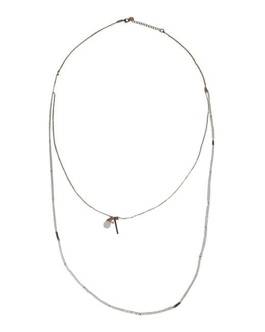 Nakamol   Metallic Necklace   Lyst