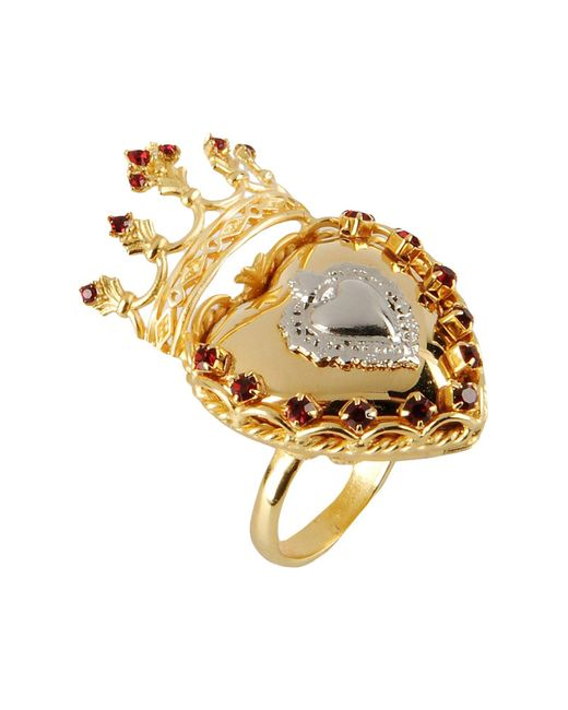 Dolce & Gabbana | Metallic Ring | Lyst