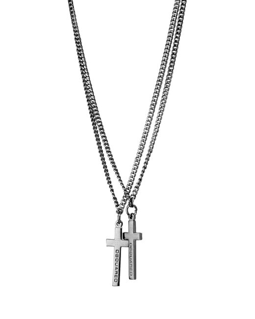 DSquared² | Gray Necklace | Lyst