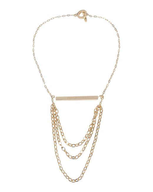 Tru Trussardi | Metallic Necklace | Lyst