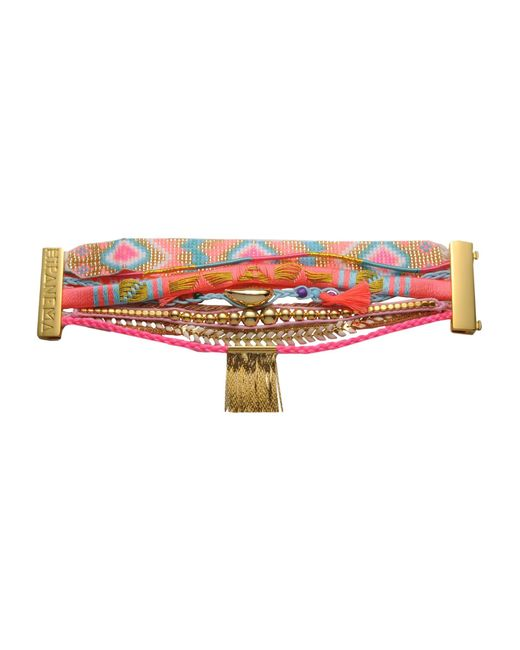 Hipanema   Orange Bracelet   Lyst