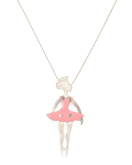 First People First   Pink Necklace   Lyst