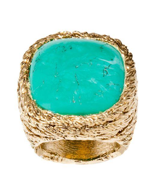 Aurelie Bidermann | Green Ring | Lyst