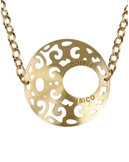 Fisico | Metallic Necklace | Lyst