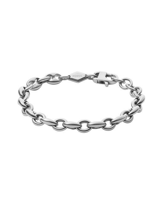 Fossil   Metallic Bracelet for Men   Lyst