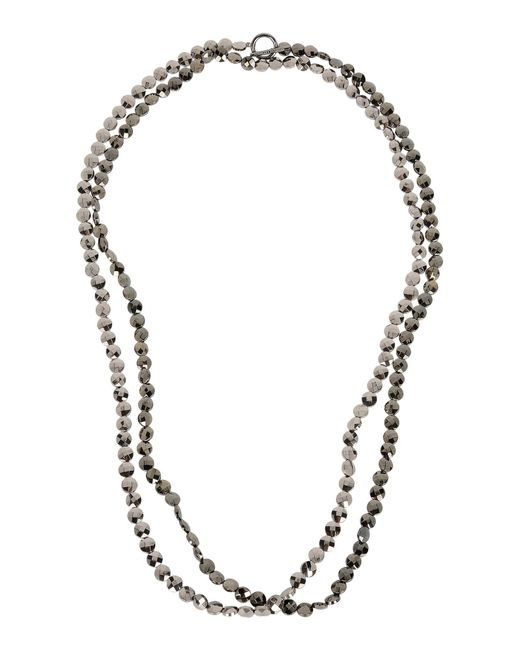 Brunello Cucinelli | Gray Necklace | Lyst