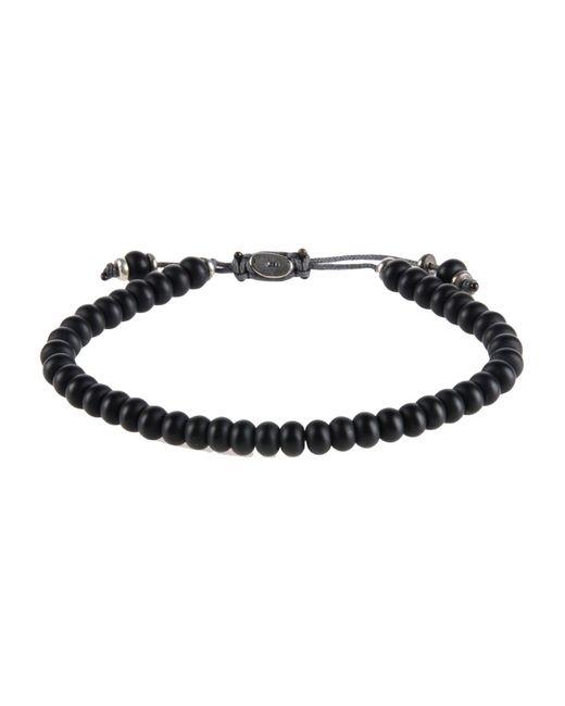 M. Cohen | Black Bracelet for Men | Lyst