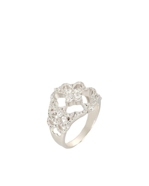 APPLES & FIGS | Metallic Ring | Lyst