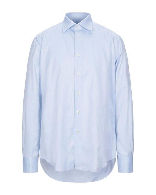 Camicia di Pal Zileri in Blue da Uomo