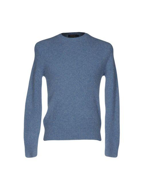 Polo Ralph Lauren | Blue Jumper for Men | Lyst