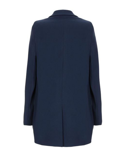 Manteau long Hanita en coloris Blue