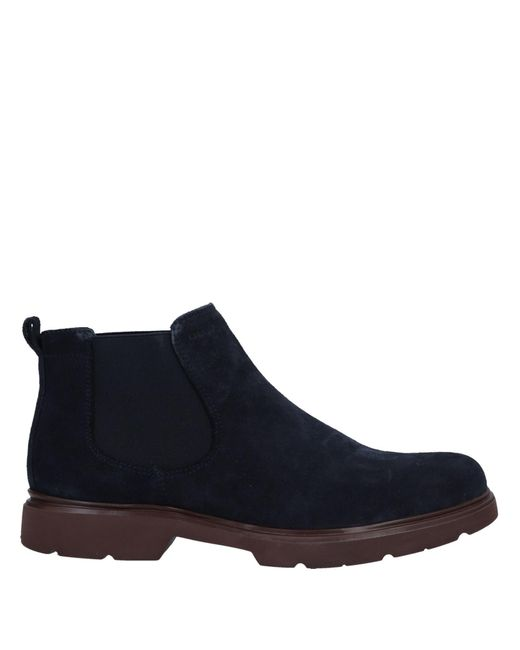 Geox Blue Ankle Boots for men