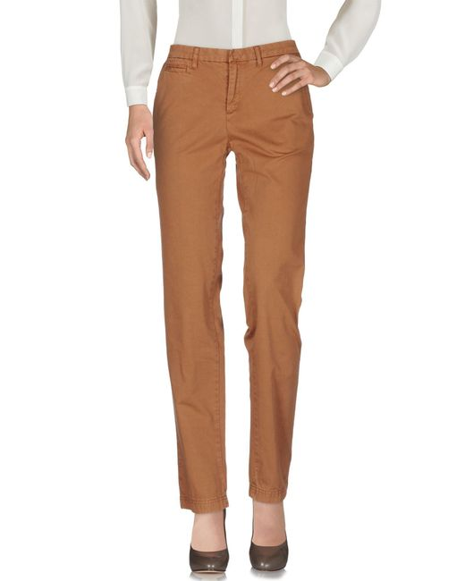 Woolrich Brown Casual Trouser
