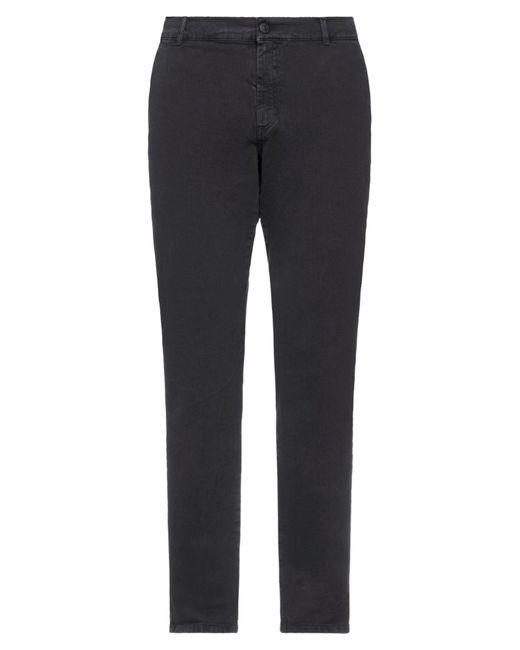 Grey Daniele Alessandrini Gray Casual Pants for men