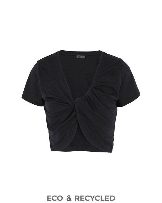 8 by YOOX Black T-shirts