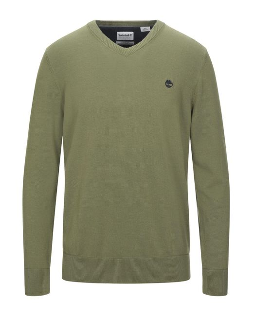 Timberland Green Sweater for men