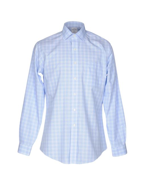 Brooks Brothers - Blue Shirts for Men - Lyst